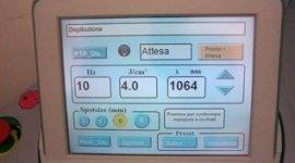 monitor di macchinario elettromedicale