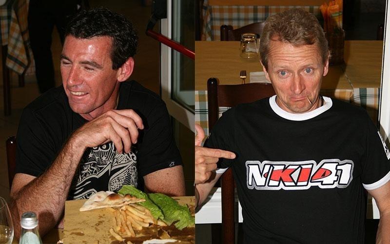 due foto raffiguranti due uomini