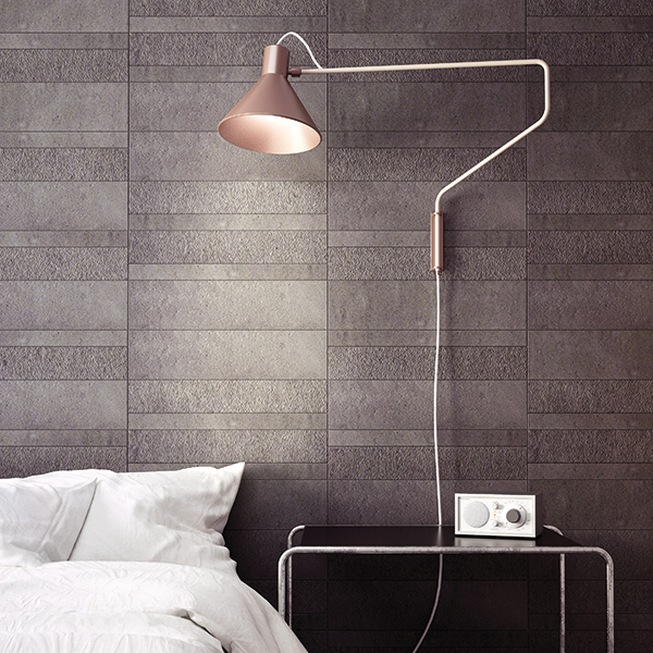 una lampada in una camera