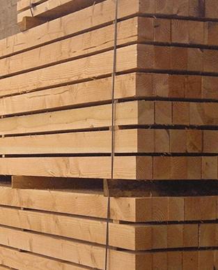 vendita materiale da costruzione in legno