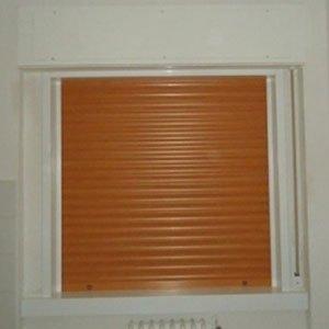 Tapparella di PVC di colore mattone