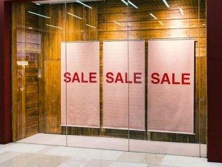 vetrina per negozio