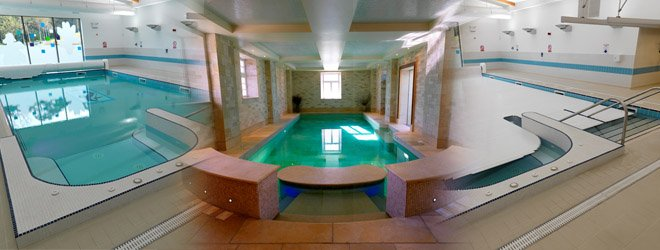 spa - Rotherham, Yorkshire - David Hallam Ltd - swimming pool montage