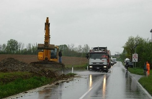 Manutenzione banchine stradali