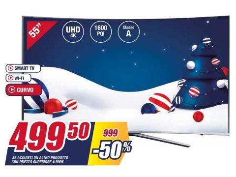 "SAMSUNG TV LED 55"" UE55KU6500"