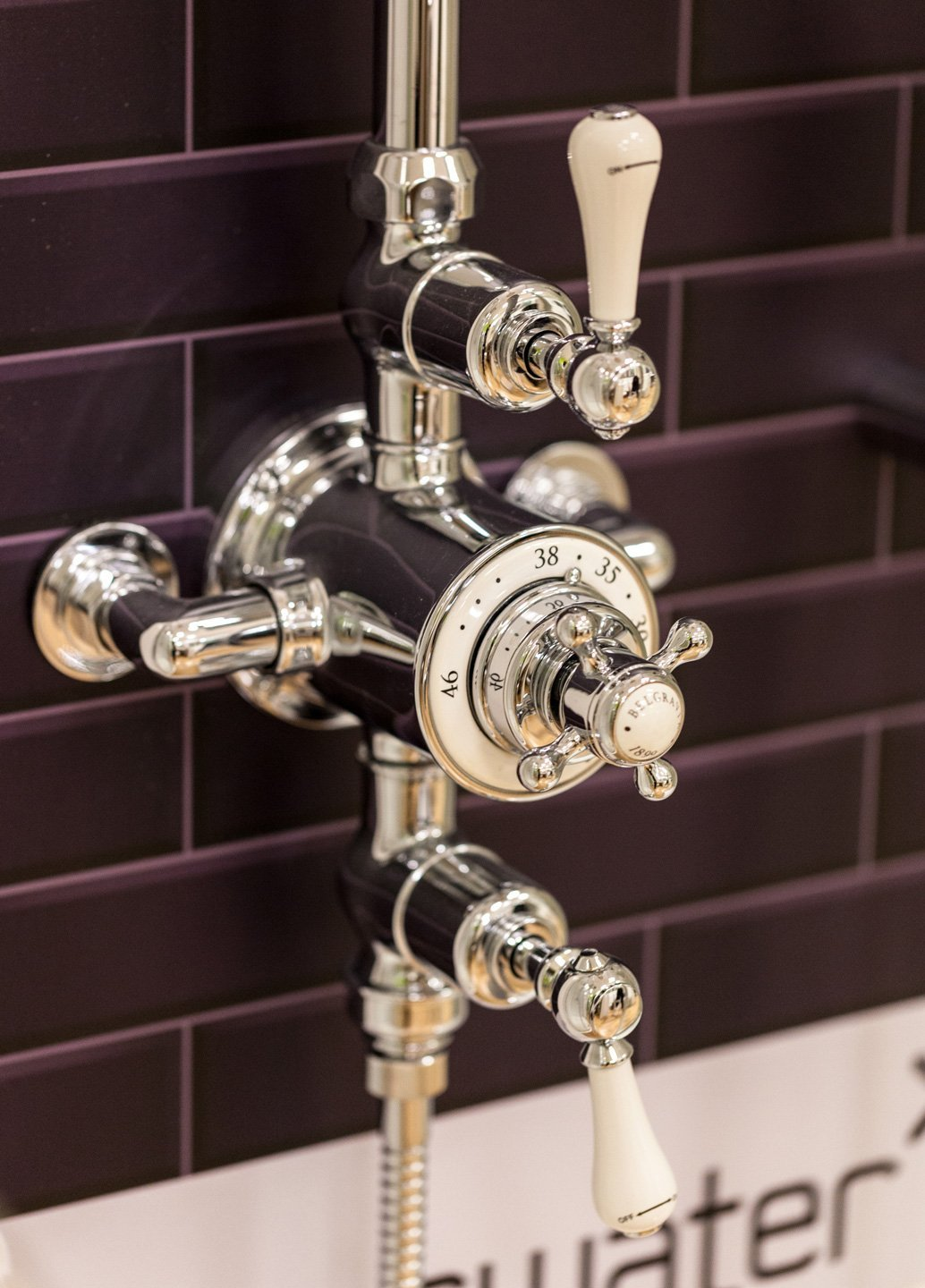 View of quality bathroom fittings