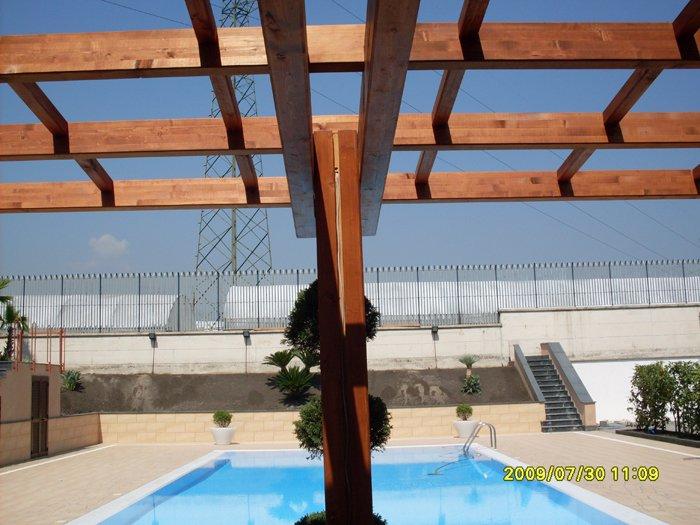 Tetti e tettoie in legno ARCO