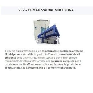 vrv climatizzatore multizona daikin