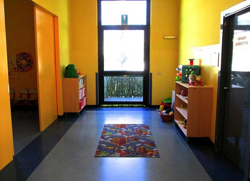 entrata di un asilo