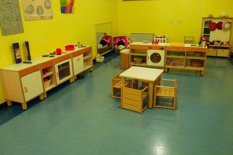 area giochi di in asilo