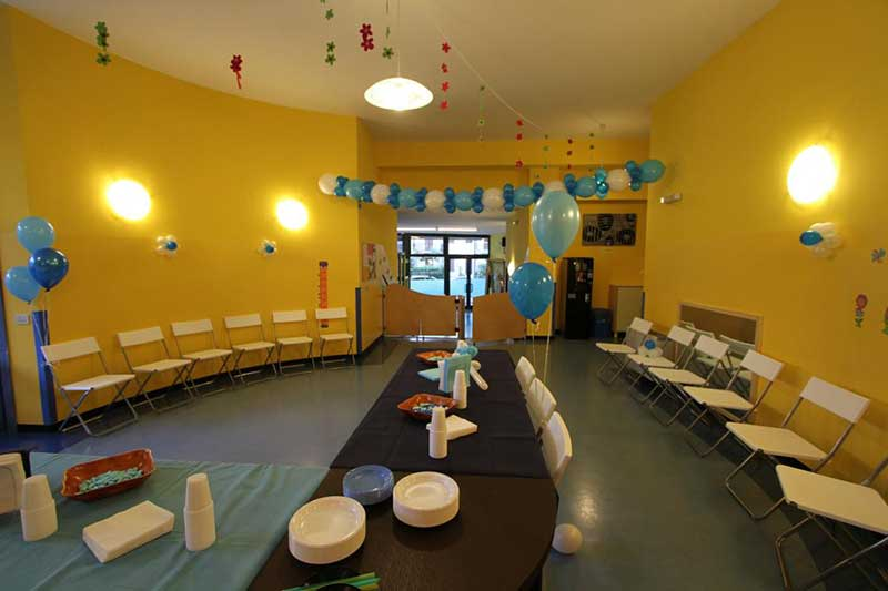 sala mensa di un asilo