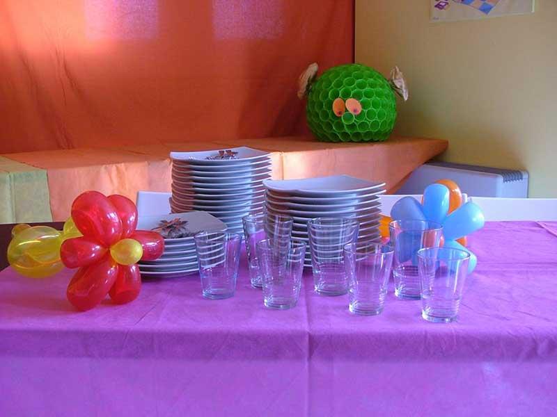 tavola per feste