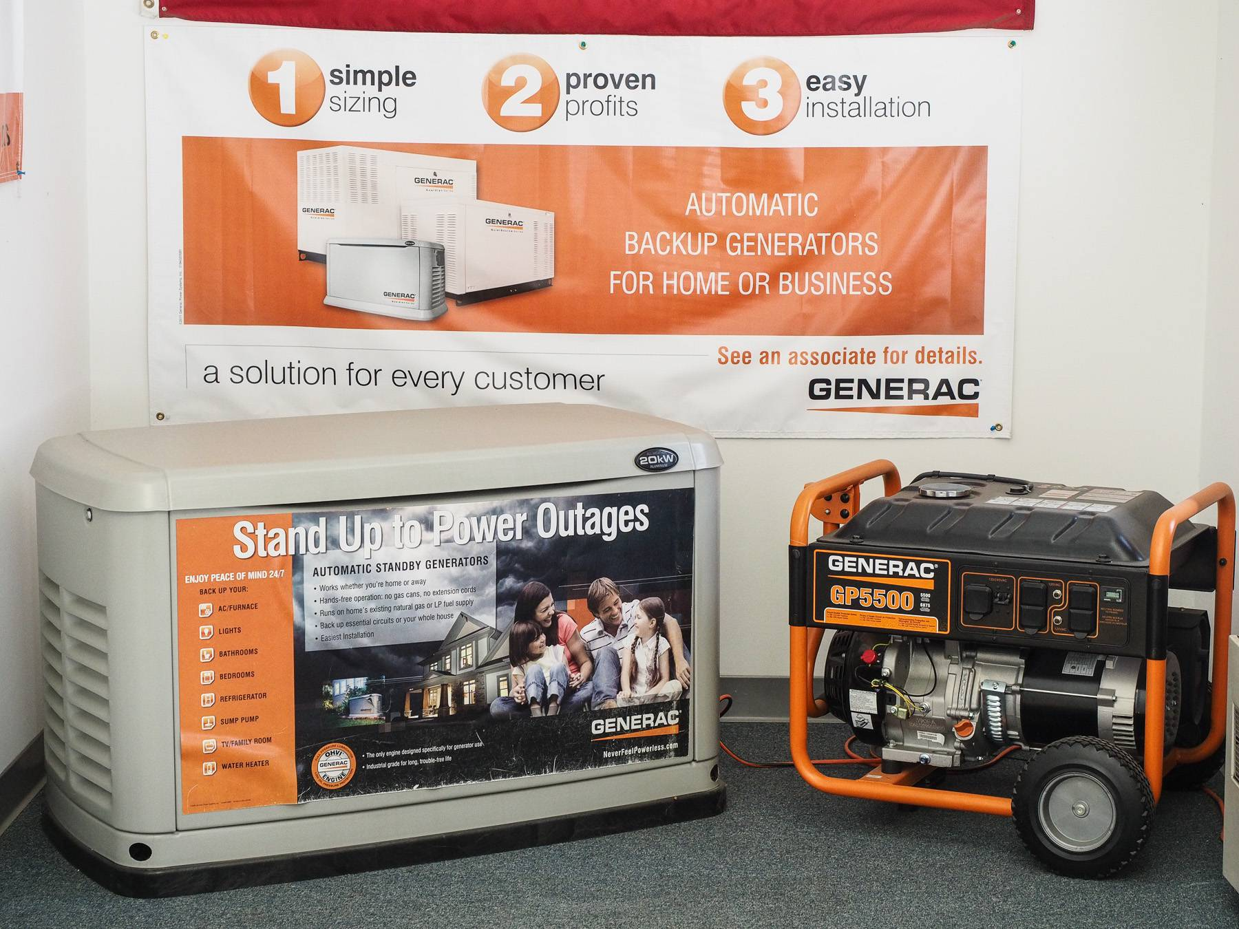 Electrical Supply & Portable Generators Newtown & Danbury