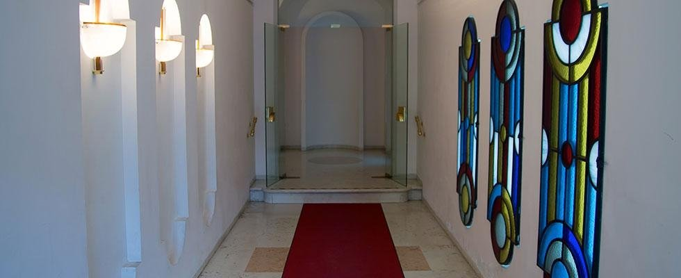 corridoio dello studio legale