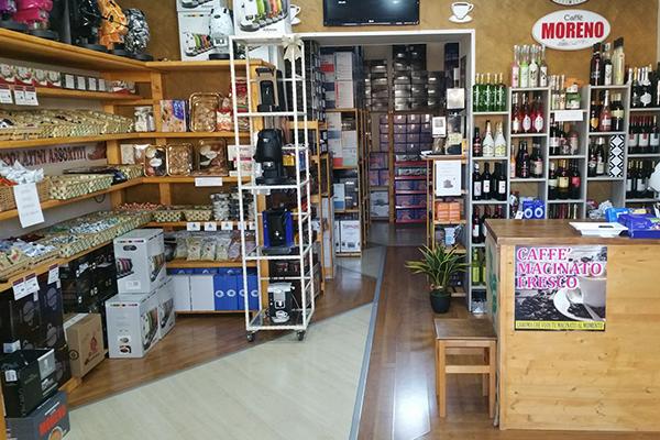 vendita cialde caffe e tisane