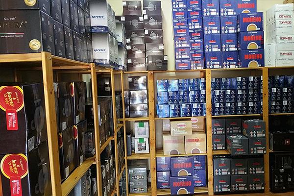 vendita di cialde e capsule caffe