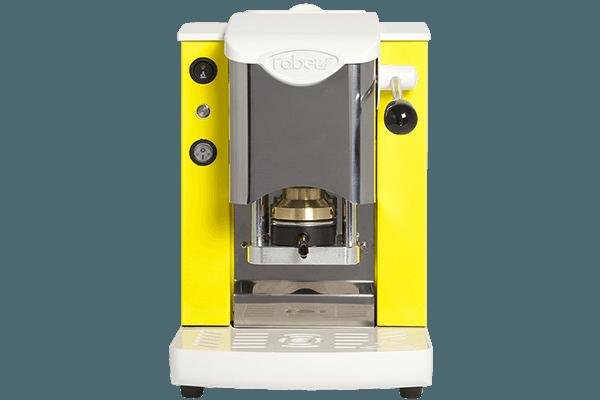 Faber slot inox bianco giallo