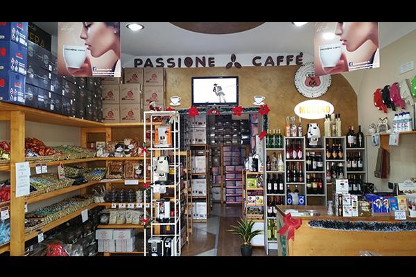 negozio di caffe