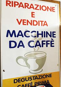 riparazione  e vendita macchine da caffe