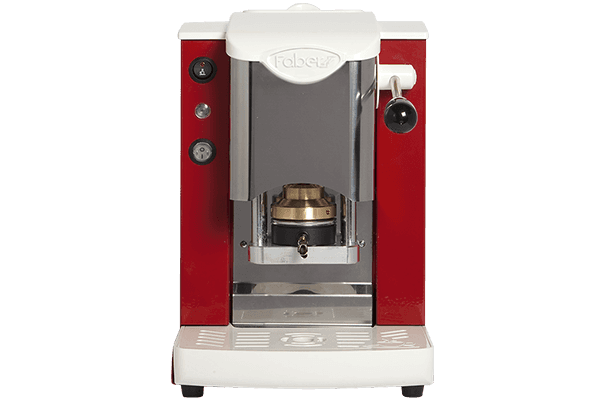 Faber slot inox bianco rosso