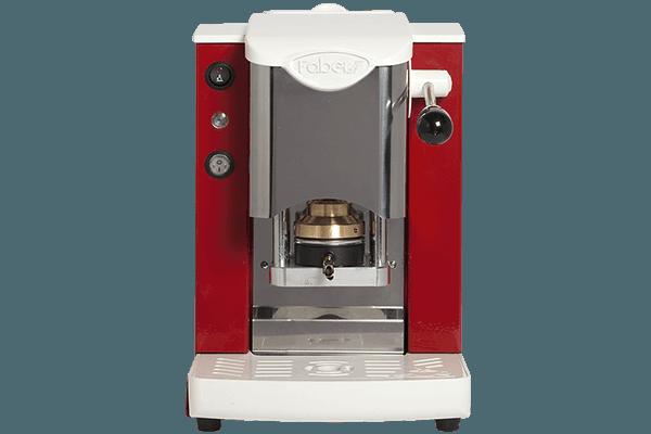 Faber slot inox bianco rosso