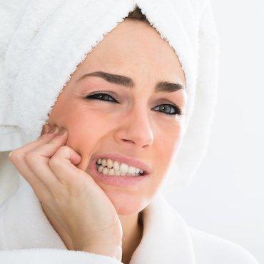Mögliches Risiko: Empfindliche Zähne