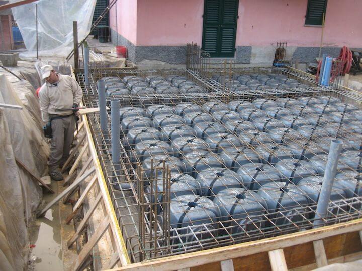 costruzione fondamenta casa