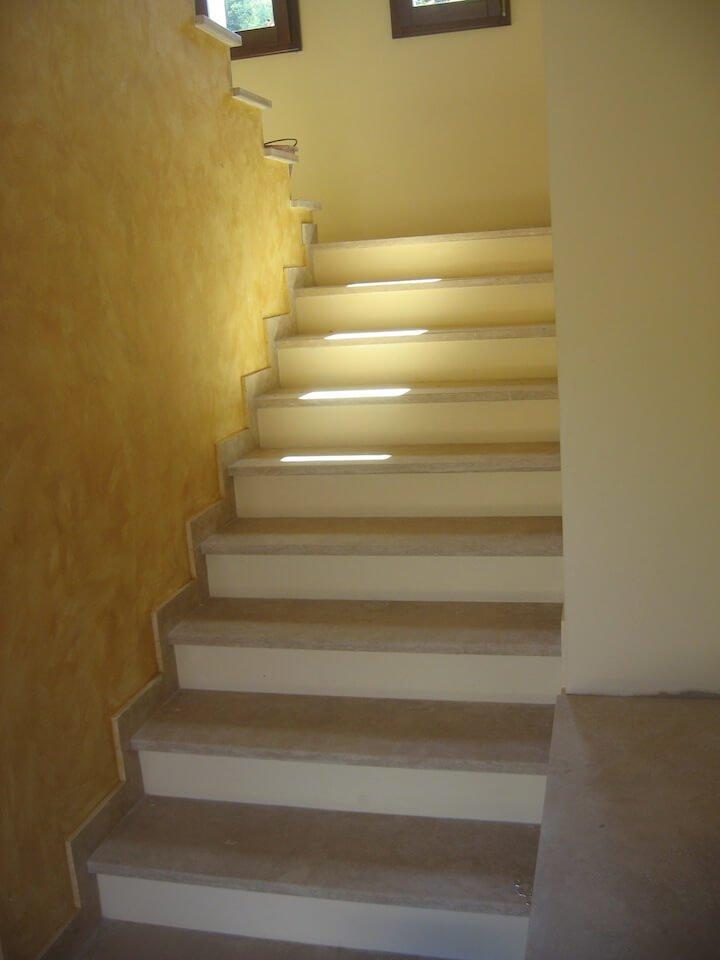 una rampa di scale