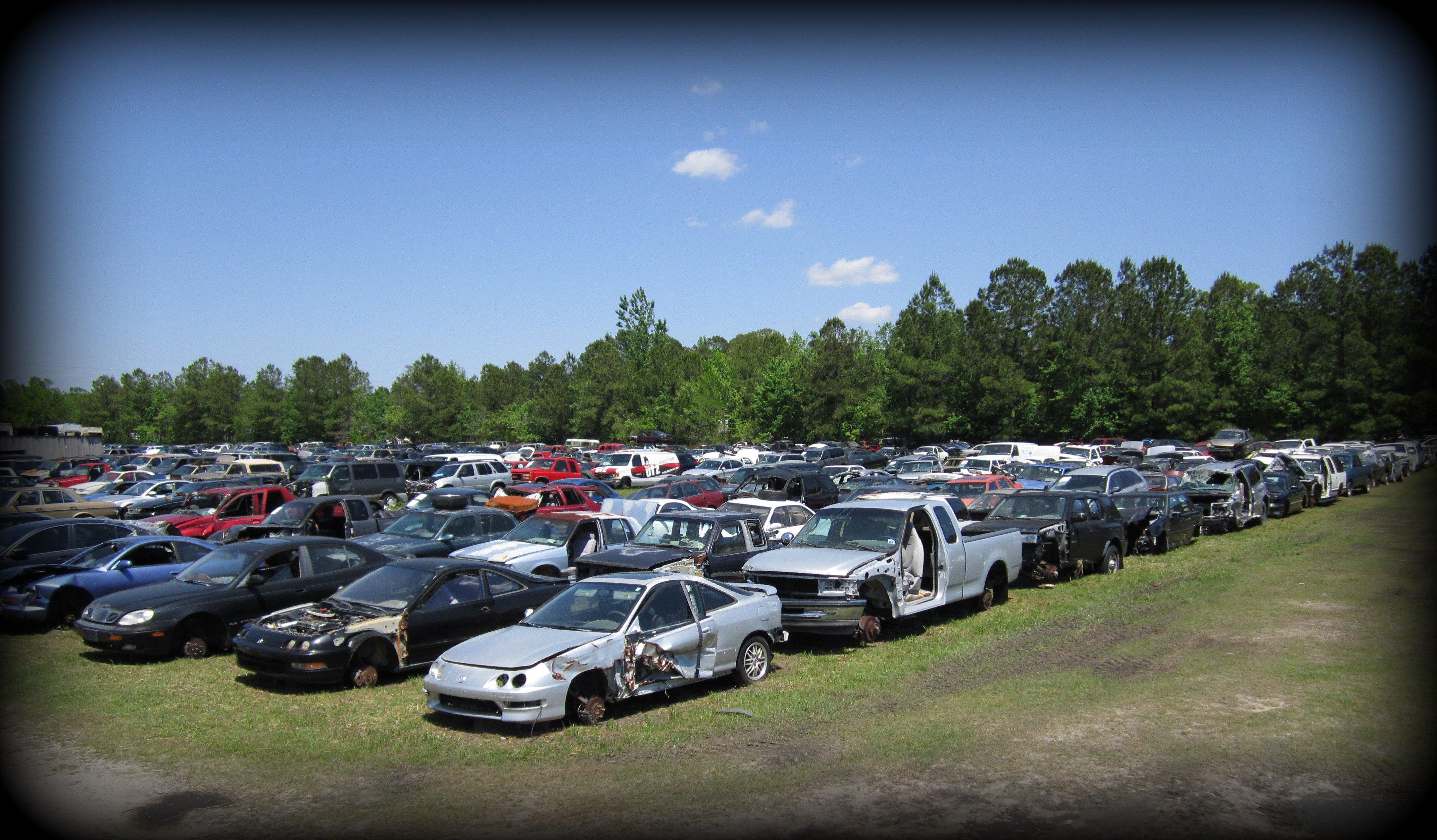 Used Cars Wilmington Nc >> Salvage Yard Wilmington, NC | Lewis Auto Parts | Used Auto Parts Leland, NC
