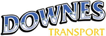 downes transport business logo