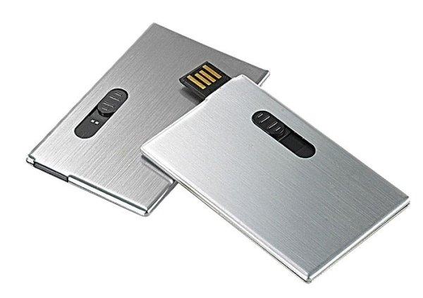 USB CARTA CREDITO Collezione: Prestigius - Tipologia: USB - Materiale: ALLUMINIO 26017