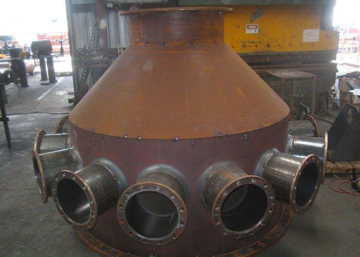 steel distributor manifold