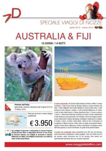 vacanze, offerte, last minute, Viaggi di Nozze, Australia, Fiji,