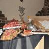 assortimento affettati e piatti