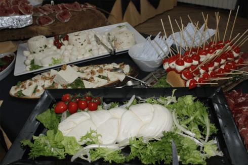 Assortimento cibo