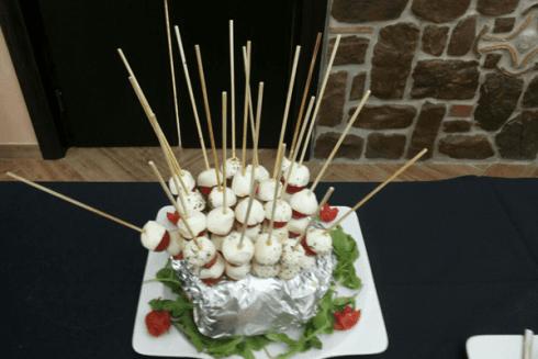 Pomodori e mozzarelle