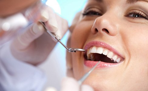 Experienced practitioners providing dentistry services to a patient in Dahlonega, GA