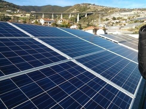 Impianti solari lato sinistro