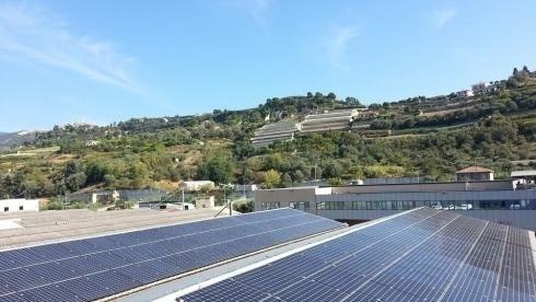 Impianti solari dall'alto