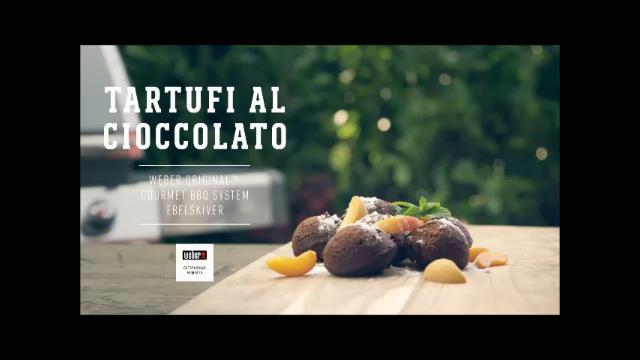 ricette weber barbecue tartufi al cioccolato