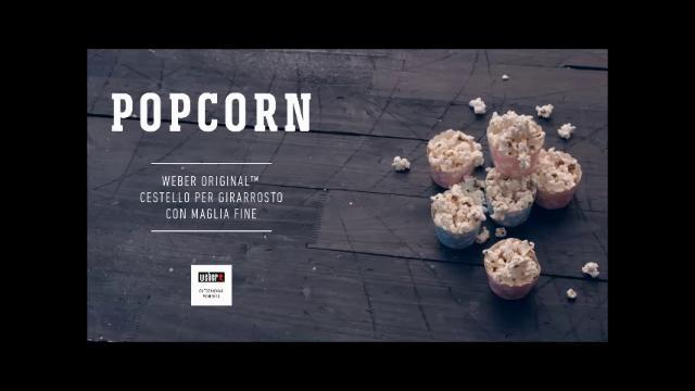 ricette weber barbecue popcorn
