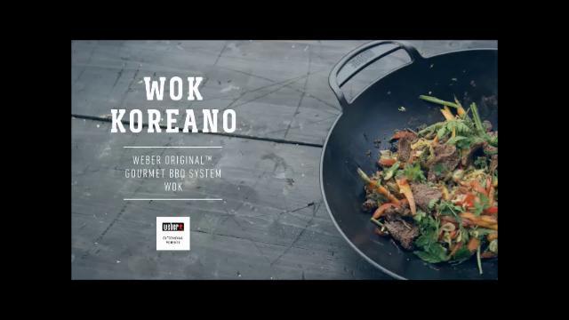 ricette weber barbecue wok koreano