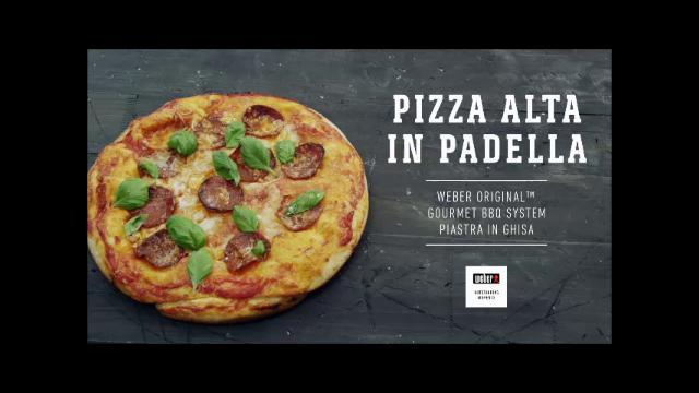 ricette weber barbecue pizza alta