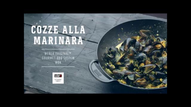 barbecue weber ricetta cozze alla marinara