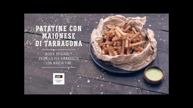 ricette weber barbecue Patatine