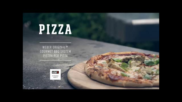 ricetta weber barbecue pizza