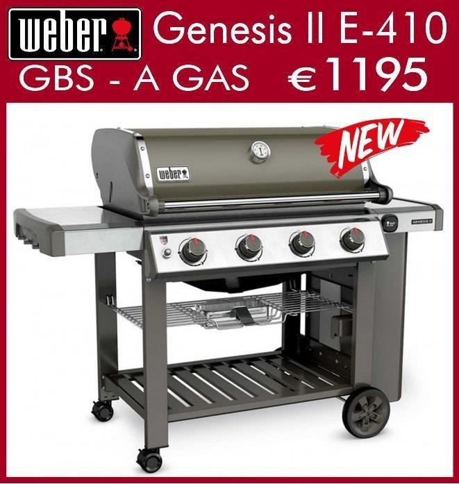 weber genesis II e-410
