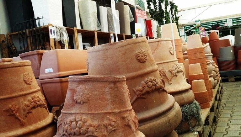 vaso festonato fatto a mano