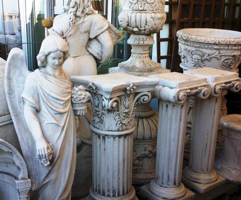 vasi in pietra cemento