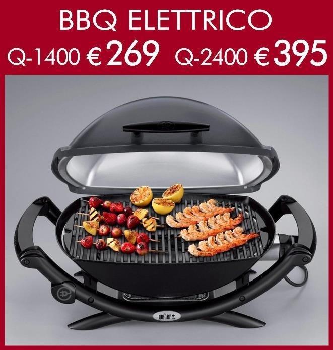 weber elettrico q-1400 e q-2400